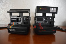 Lot of RARE Polaroid cameras - Pronto 600 - Supercolor 645 - 1975