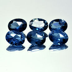 6 London Topaz - 7.86 ct
