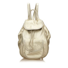 Loewe - Metallic Leather Backpack