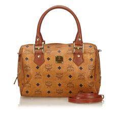 MCM - Visetos Leather Handbag
