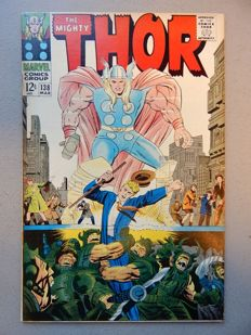 Marvel Comics - The Mighty Thor #138 - 1x sc - (1967)