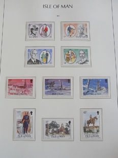 Guernsey, Isle of Man and Jersey 1958/1985 - Three collections