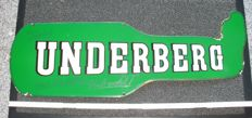 Enamel sign - Underberg - Germany ca. 1950