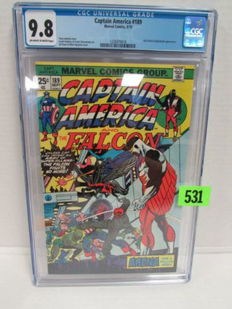 Captain America #189 - Marvel Comics - CGC Graded 9.8 - Highest Recorded Grade - (1975)