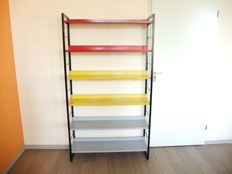 A. Dekker and Mr. van Mieren for Tomado - standing bookcase