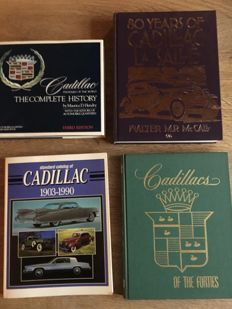 4 books all about the cadillac brand