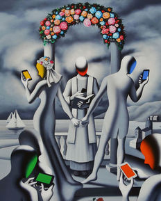Mark Kostabi - Till text do us apart