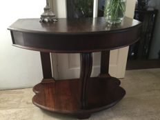 Beautiful robust side table, first half 20th century
