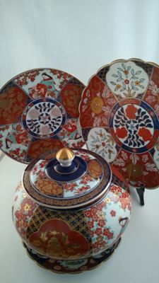 Imari set - Japan - late 20th century