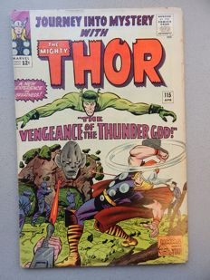 Marvel Comics - Journey into Mystery with the Mighty Thor #115 - 1x sc - (1965)