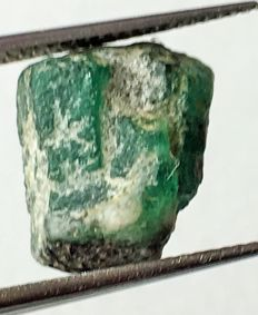 Natural Emerald rough - 5.48 cts.