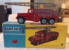 Corgi Major Toys - Scale 1/48 - Chipperfield's Circus Cran Trcuk No.1121