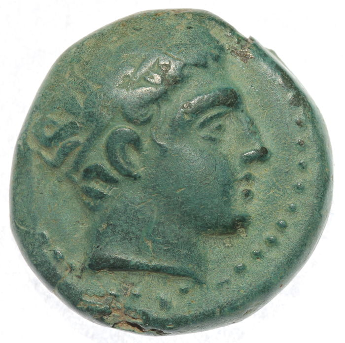 Greek Antiquity - Kings of Macedon - Philip II - AE unit - Naked youth on horse  - 17mm, 5,93g - interesting!