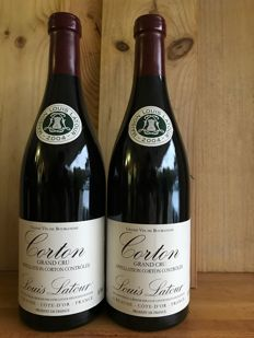 2004 Corton Grand Cru Louis Latour x 2 bottles