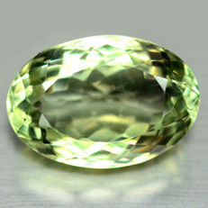Natural Prasiolite - 21.14 ct