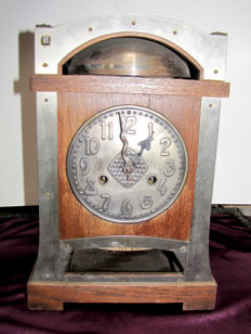 German Table Clock - Jugend Style - 1900s