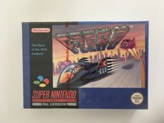 F-zero Nintendo red strip (factory) sealed game