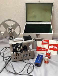Eumig P8 Imperial 8 mm projector including original case and manual