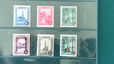 Belgium 1929 - Express stamps - OBP 292C/H