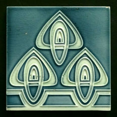 Georg Bankel - Art Nouveau Tile