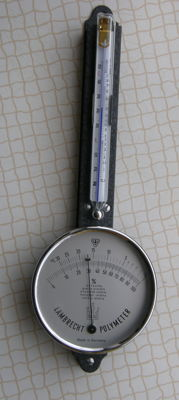 Original Lambrecht's Polymeter - Thermo-Hygrometer ~ approx. 1970