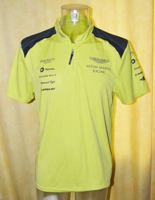 Aston Martin Racing 2017 (!) Le Mans Team and Drivers Raceday Shirt