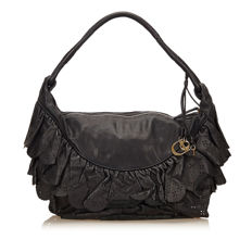Dior - Leather Ruffled Gypsy