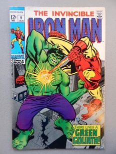 Marvel Comics - The Invincible Iron Man #9 -  1x sc - (1969)