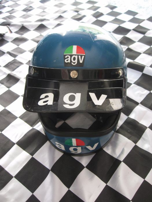 AGV - Cross helmet - ca. 1970