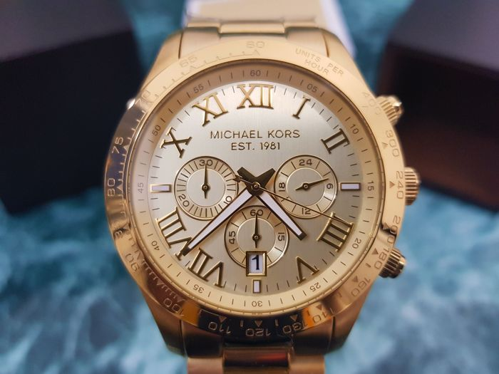 a4a5b72c0577 Michael Kors Layton Mens Watch MK8214 - Catawiki