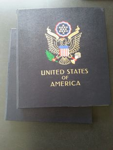 America 1851/1976 - collection in two Davo crystal albums