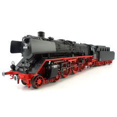 Märklin H0 - 39013 - Museum-steam locomotive with pulled tender BR 01 of DB, with smoke generator