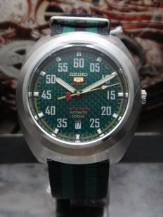 Seiko 5 Sport 100m Men Watch - SRPA89K1 Limited Edition Green