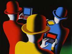 Mark Kostabi - The mad hatters