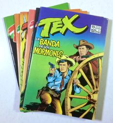 Tex - lot of 6x albums - Spanish edition (1988)