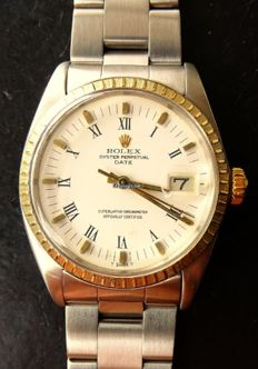 Rolex Oyster Date steel/gold 18K 750 Ref. 1500 Vintage Automatic Men's Chronometer 1968