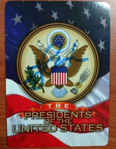 Jimmy Carter signed president of the United States Vintage Trading Card