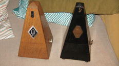 2 Metronomes brand Maelzel Paris and Wittner