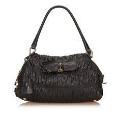 Prada - Gathered Leather Handbag