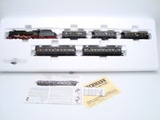 "Fleischmann N - 7897 - Deutsche Reichsbahn ""80 years"" limited edition train pack with BR39 steam locomotive of the DRG"