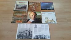 7 Albums= 8 Records Concertgebouw Orchestra some rare and all  conducted by Bernard Haitink very various.