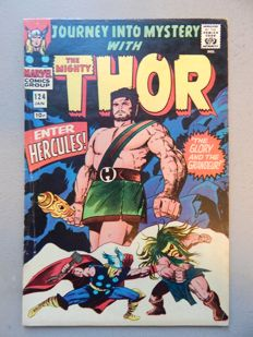 Marvel Comics - Journey into Mystery with the Mighty Thor #124 - 1x sc - (1966)