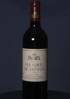 1999 Les Forts de Latour - second wine of Chateau Latour - Pauillac - 1 bottle 0.75l