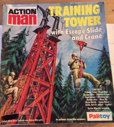 Vintage Action Man, Training Tower from the 70's