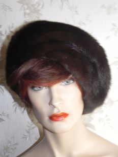 Mink hat / mink fur hat / winter hat