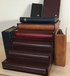 Accessories - 10 safe albums, sleeve and folio/dual pages Ned complete 1939 to 90 and page siphons