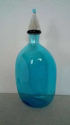 Cenedese & Albarelli - Light blue bottle with stopper