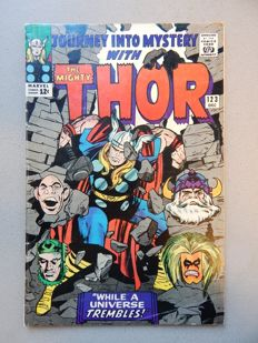 Marvel Comics - Journey into Mystery with the Mighty Thor #123 - 1x sc - (1965)