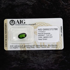 Diopside – 1.97 ct