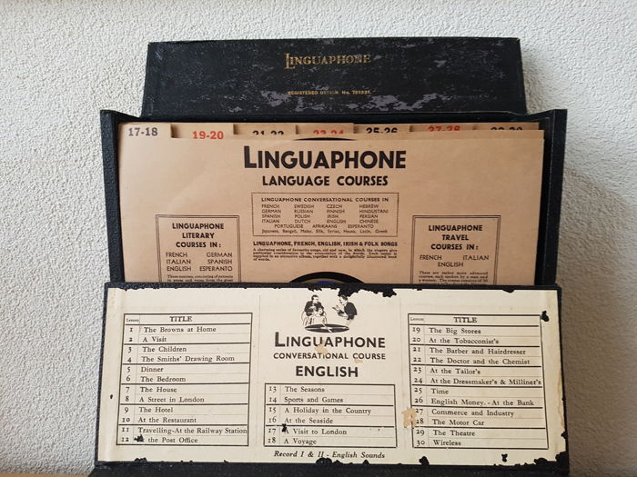 Linguaphone - Complete in orginal box